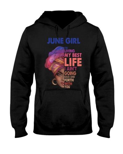 Black Woman June Girl