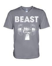 Beast  V-Neck T-Shirt thumbnail