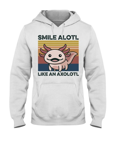 Animal Smile Alolt Like An Axololt