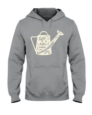 Life is better when i'm gardenning Hooded Sweatshirt thumbnail
