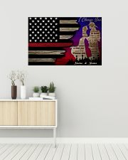 Firefighter I Choose You 36x24 Poster poster-landscape-36x24-lifestyle-01