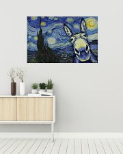 Animal Starry Night 36x24 Poster poster-landscape-36x24-lifestyle-01