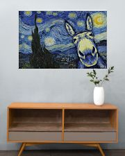 Animal Starry Night 36x24 Poster poster-landscape-36x24-lifestyle-21