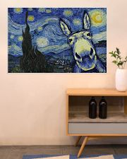 Animal Starry Night 36x24 Poster poster-landscape-36x24-lifestyle-22