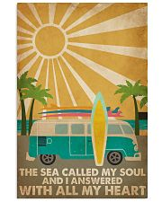 Surfing The Sea Called My Soul 16x24 Poster front