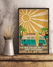Surfing The Sea Called My Soul 16x24 Poster lifestyle-poster-3