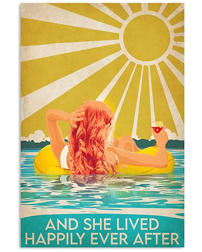 Swimming Redhead Happily Ever After