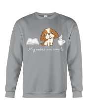 My needs are simple Crewneck Sweatshirt thumbnail