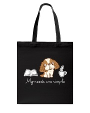 My needs are simple Tote Bag thumbnail
