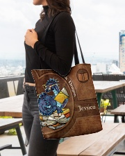 Book Dragon Print All-over Tote aos-all-over-tote-lifestyle-front-04