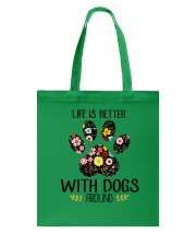 Dog Life Is Better - Hoodie And T-shirt Tote Bag thumbnail