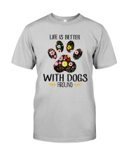 Dog Life Is Better - Hoodie And T-shirt Classic T-Shirt thumbnail