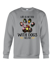 Dog Life Is Better - Hoodie And T-shirt Crewneck Sweatshirt thumbnail