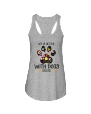 Dog Life Is Better - Hoodie And T-shirt Ladies Flowy Tank thumbnail
