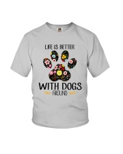 Dog Life Is Better - Hoodie And T-shirt Youth T-Shirt thumbnail