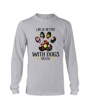 Dog Life Is Better - Hoodie And T-shirt Long Sleeve Tee thumbnail