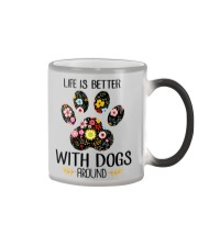 Dog Life Is Better - Hoodie And T-shirt Color Changing Mug thumbnail