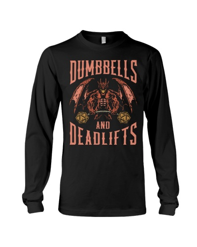 Fitness Dumbbells And Deadlifts