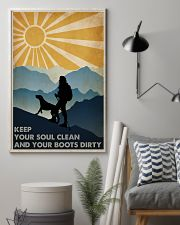 Hiking Keep Your Soul Clean 16x24 Poster lifestyle-poster-1