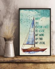 Ocean Find My Soul 16x24 Poster lifestyle-poster-3