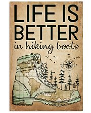 Hiking Life Is Better 16x24 Poster front