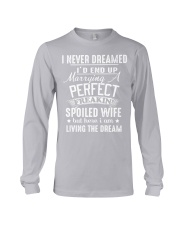Spoiled wife Long Sleeve Tee thumbnail