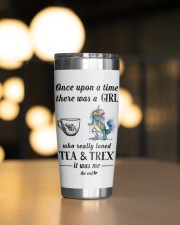 T-rex  And Tea 20oz Tumbler aos-20oz-tumbler-lifestyle-front-04