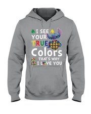 Autism I See Your True Colors Hooded Sweatshirt thumbnail