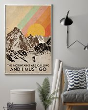 Hiking The Mountains Are Calling 16x24 Poster lifestyle-poster-1
