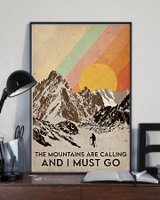Hiking The Mountains Are Calling 16x24 Poster lifestyle-poster-2