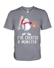 I've Created a Monster V-Neck T-Shirt thumbnail