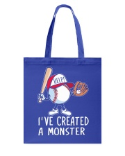 I've Created a Monster Tote Bag thumbnail
