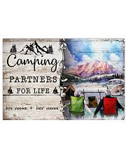 Camping Partners For Life 17x11 Poster front