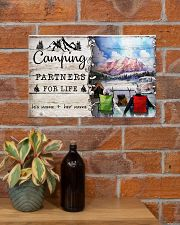 Camping Partners For Life 17x11 Poster poster-landscape-17x11-lifestyle-23