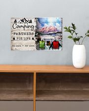 Camping Partners For Life 17x11 Poster poster-landscape-17x11-lifestyle-24