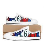 LIMITED EDITION Women's Low Top White Shoes tile