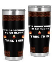 Game It's Dangerous To Go Alone 20oz Tumbler front