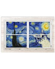 Cat Starry Night 36x24 Poster front
