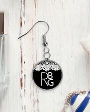Feminist RBG Circle Earrings aos-earring-circle-front-lifestyle-1