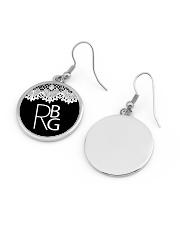 Feminist RBG Circle Earrings aos-earring-circle-front-lifestyle-11