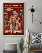 Hippie Eat Mushrooms See The Universe 16x24 Poster lifestyle-poster-1