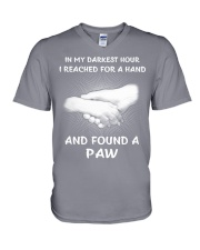 In my darkest hour V-Neck T-Shirt thumbnail