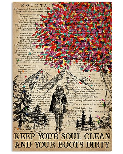 Hiking Keep Your Soul Clean