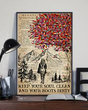 Hiking Keep Your Soul Clean 16x24 Poster lifestyle-poster-2