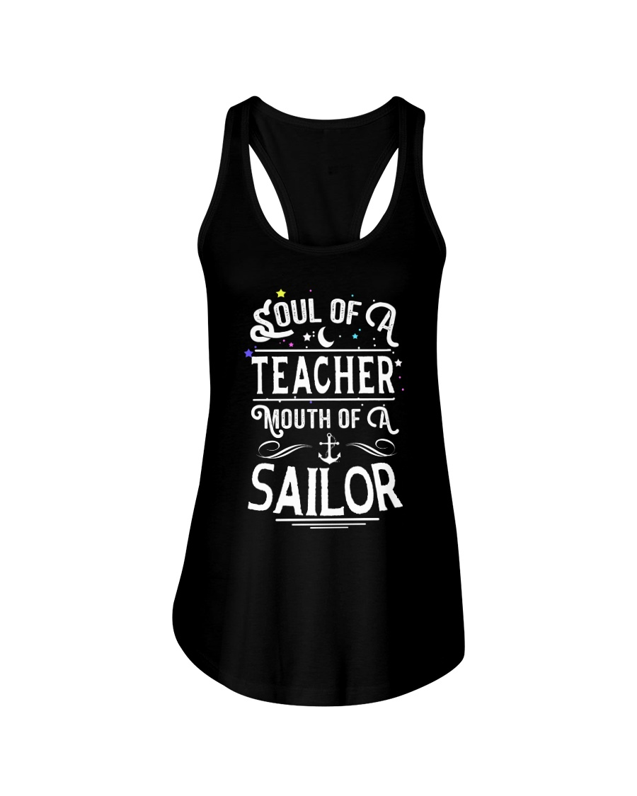 Soul of a teacher Ladies Flowy Tank