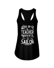 Soul of a teacher Ladies Flowy Tank front