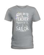 Soul of a teacher Ladies T-Shirt thumbnail