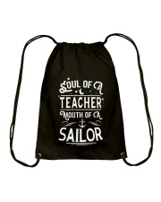 Soul of a teacher Drawstring Bag thumbnail