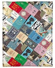 Book Fleece Blanket tile