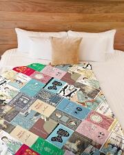 "Book Large Fleece Blanket - 60"" x 80"" aos-coral-fleece-blanket-60x80-lifestyle-front-02"